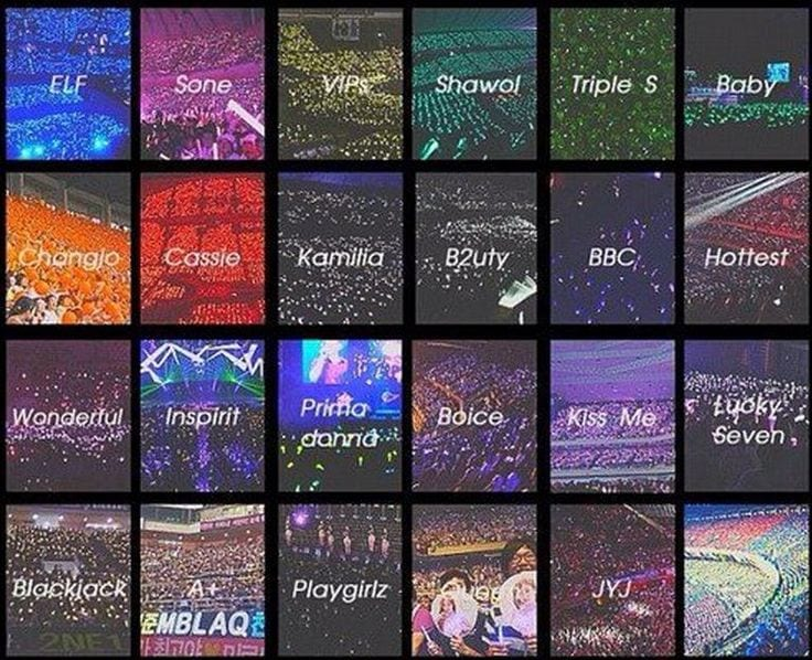 Paparazzi Corner] Fandom Colours and Their Colourful History