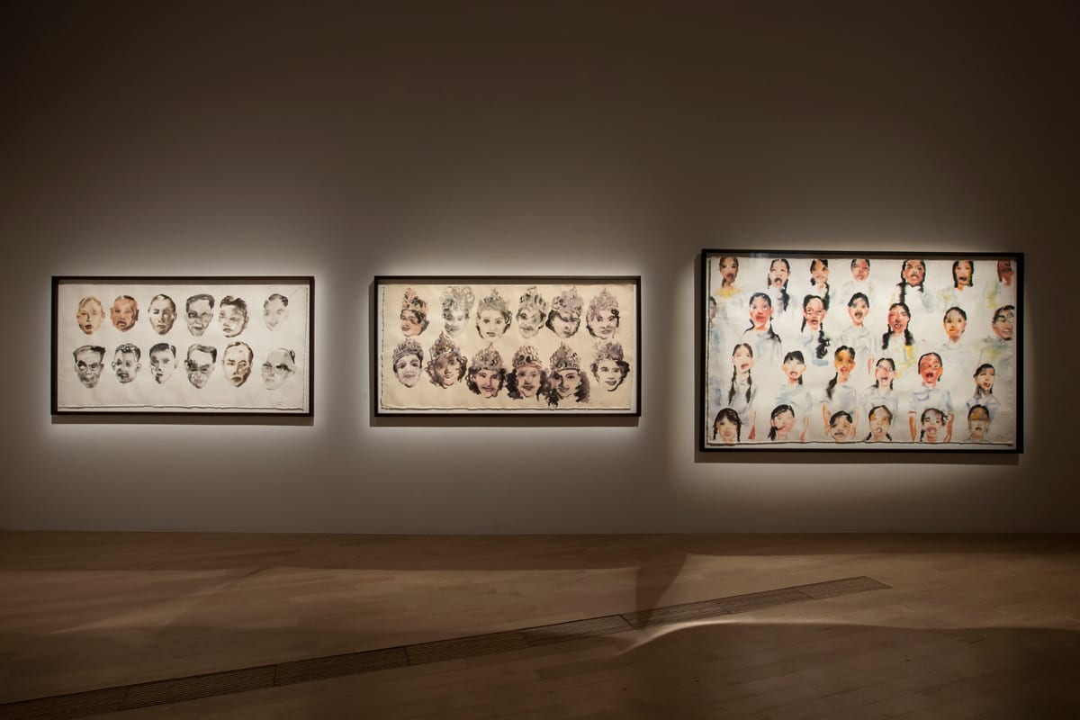Prudential-Eye-Awards-Exhibition,-series-of-paintings-by-Tawan-Wattuya
