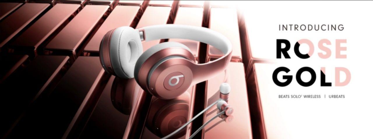 beats rose gold