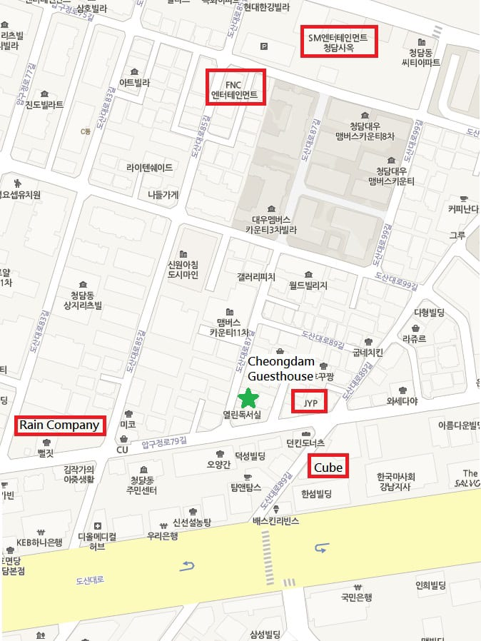 cheongdam-guesthouse-map