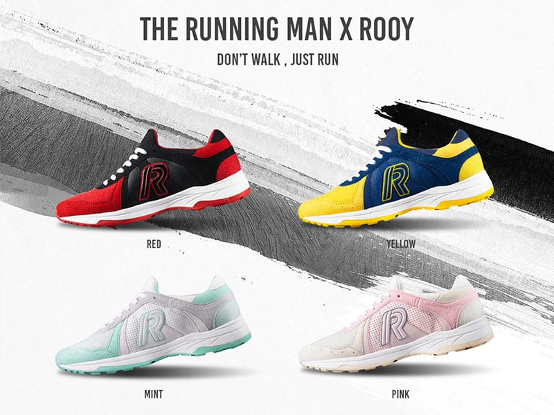 [Swag Check] Don't Walk, Just Run with Running Man shoes