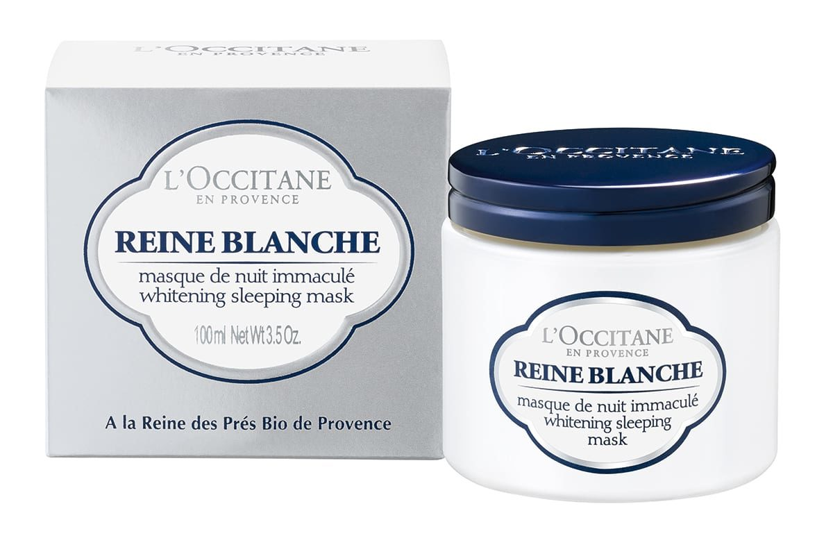 Get radiant skin with L'OCCITANE Reine Blanche Illuminating collection