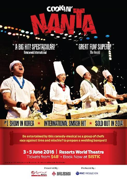 [EVENT] NANTA (Cookin') and The Painters: HERO to ignite all senses at Resorts World Theatre in Singapore!