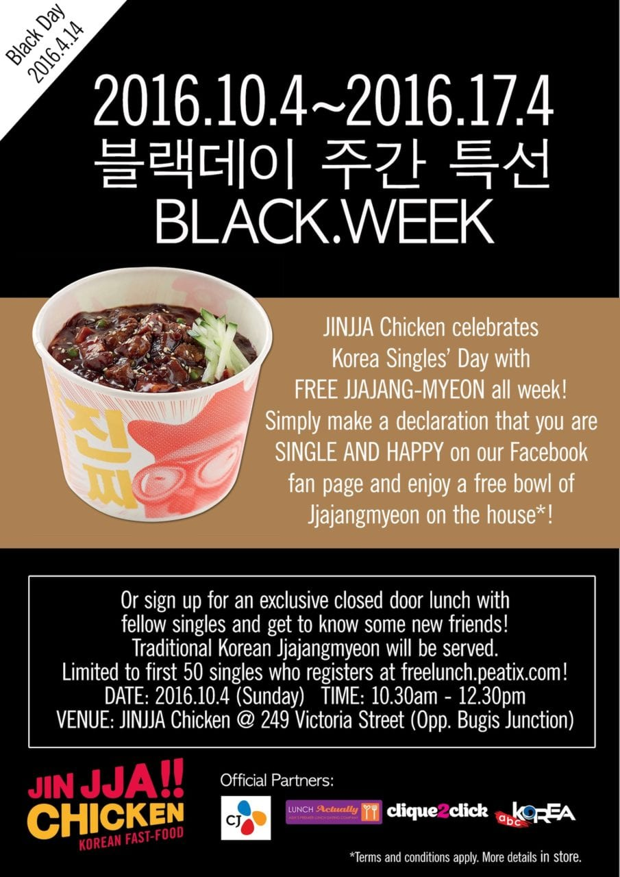 Black week flyer