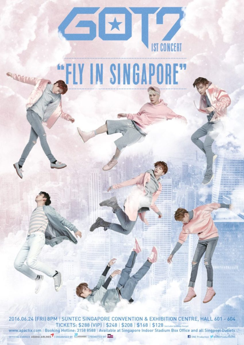 [EVENT] GOT7 First Solo Concert In Singapore!