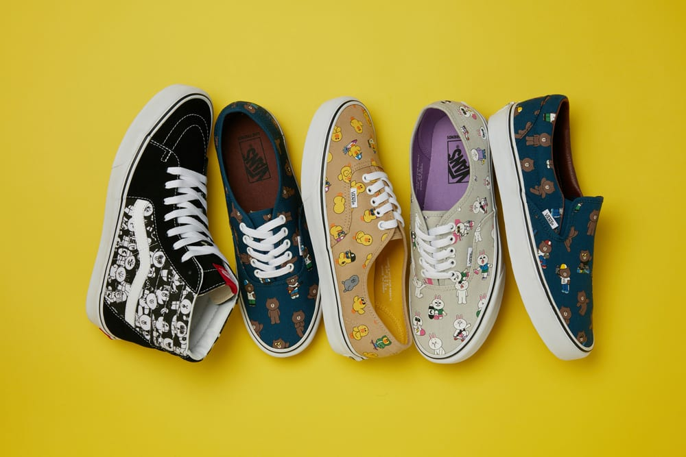 [Swag Check] VANS first collaboration with LINE FRIENDS!