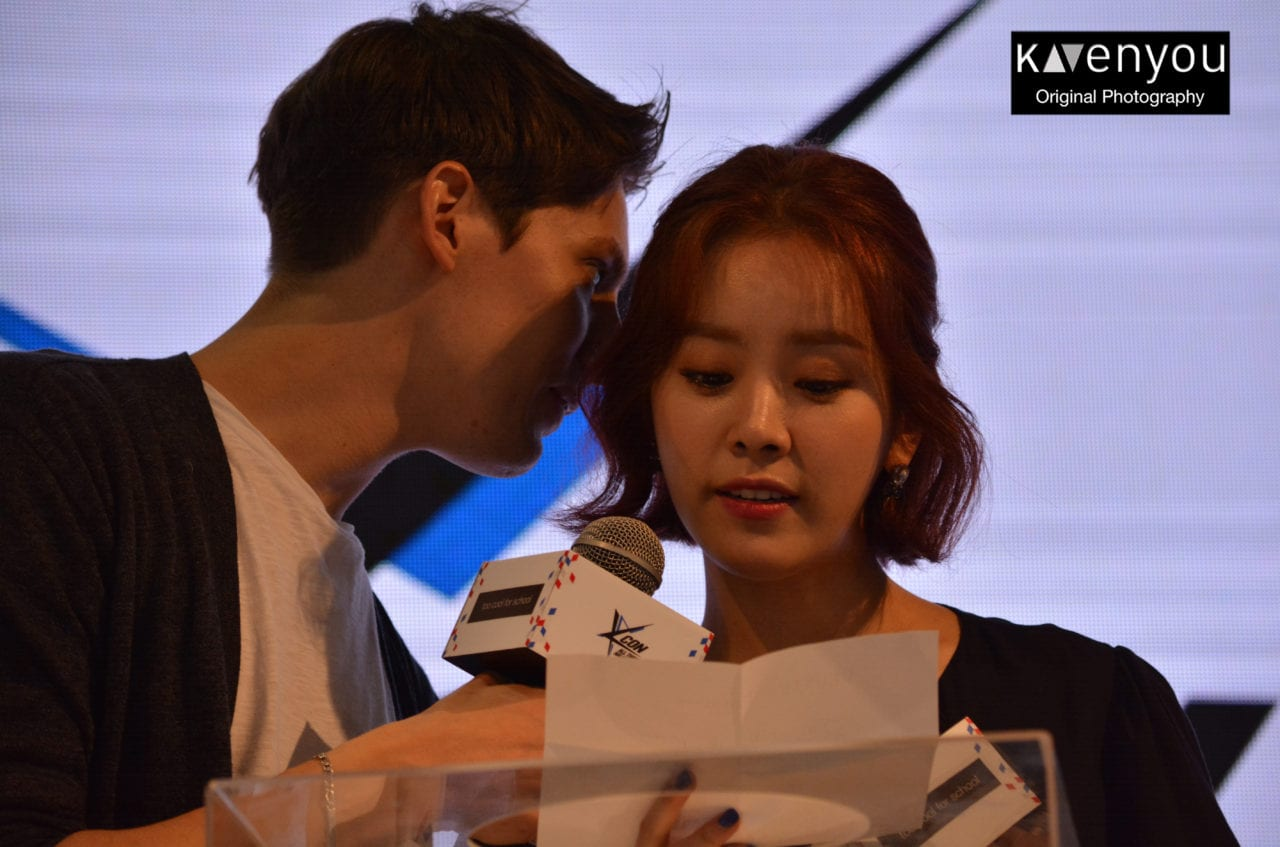 Han Ji Min and Fabien Yoon- KCON Paris