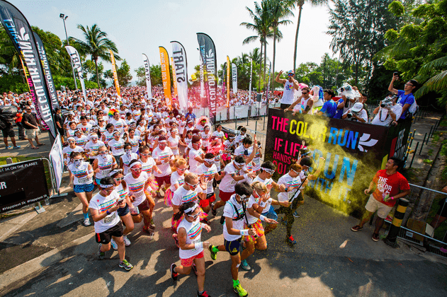 The Color Run Singapore - The Happiest 5k on the Planet returns!