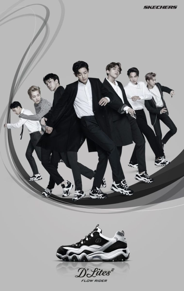 [SWAG CHECK] Korean boy band EXO are ambassadors of the new Skechers D'Lites 2!