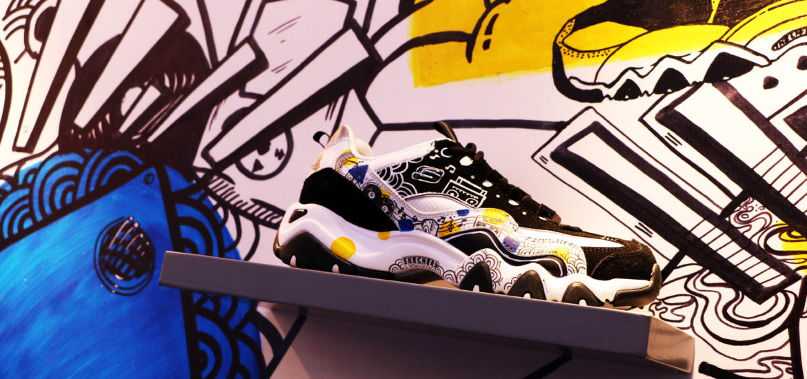 sketcher d lites yellow