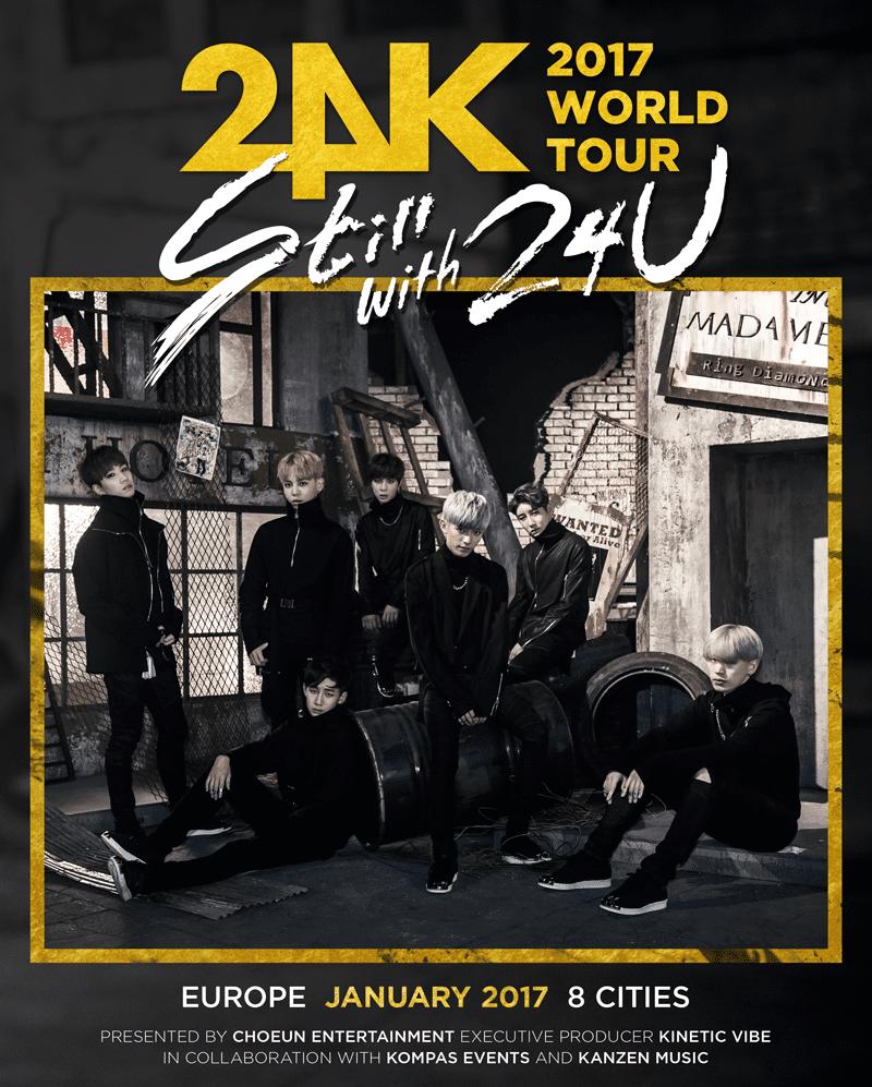 24k Europe tour
