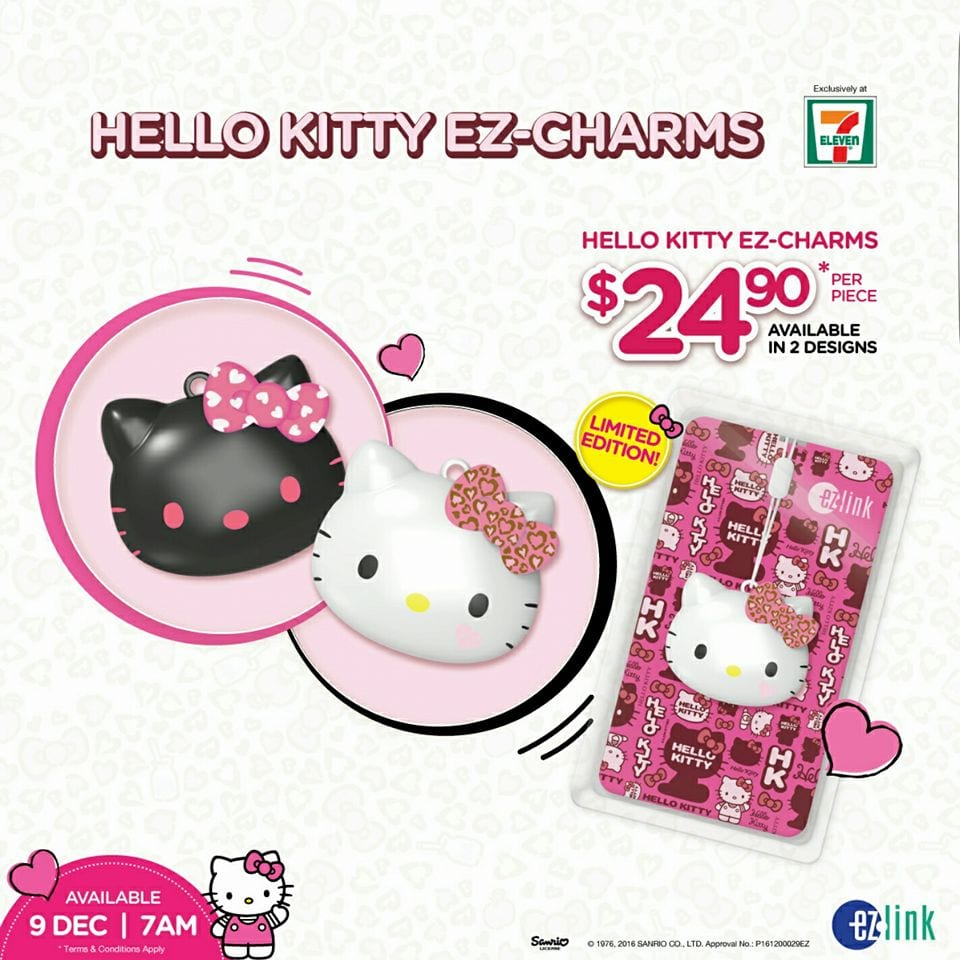 hello kitty ez-charms