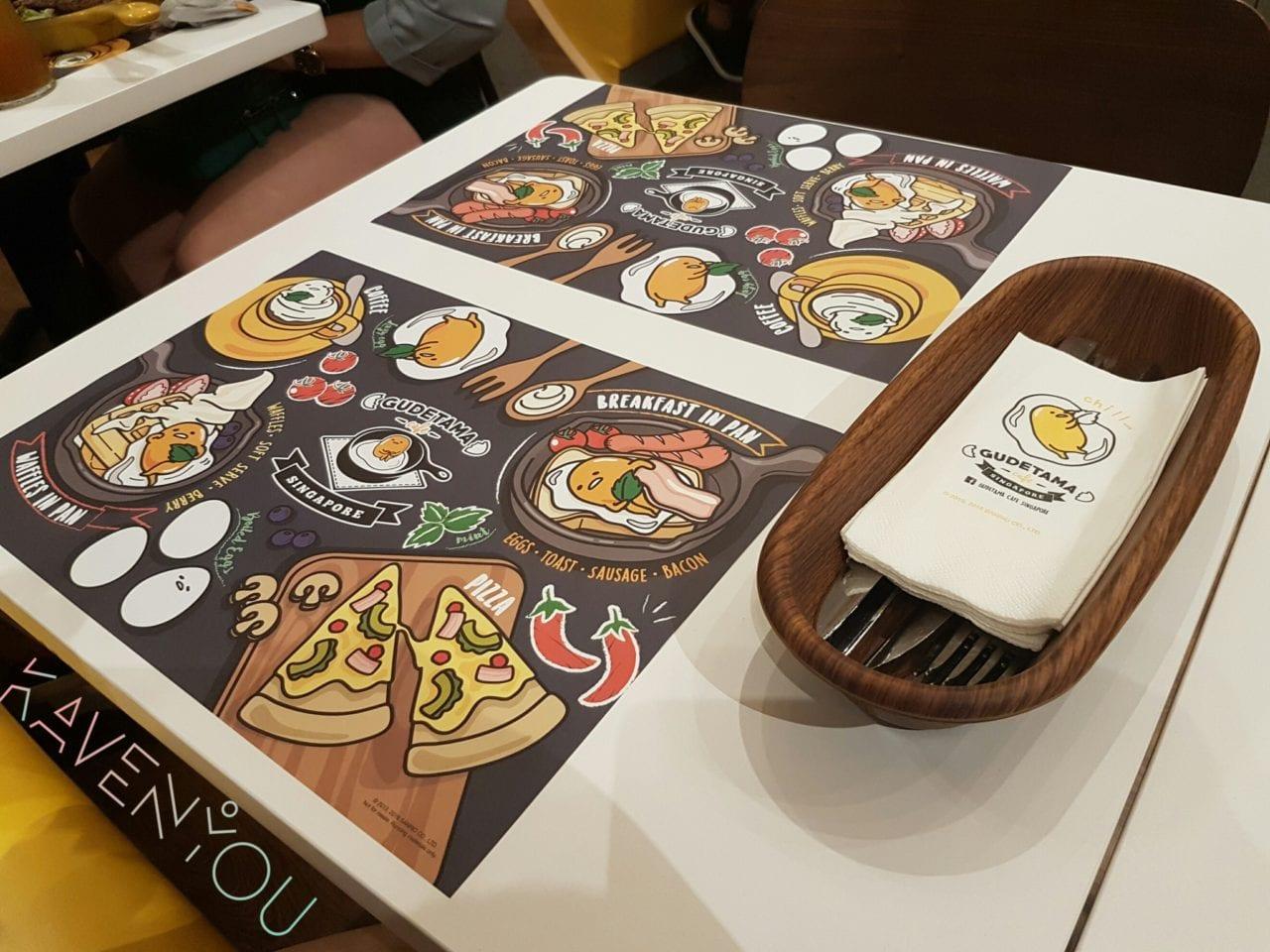 Gudetama Cafe Singapore