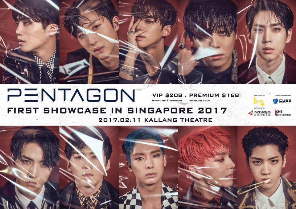 [EVENT] Pentagon First Showcase in Singapore!