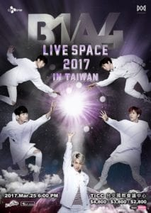 B1A4 LIVE SPACE 2017 IN TAIWAN