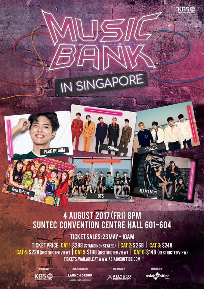 [EVENT] KBS Music Bank World Tour comes to Singapore!