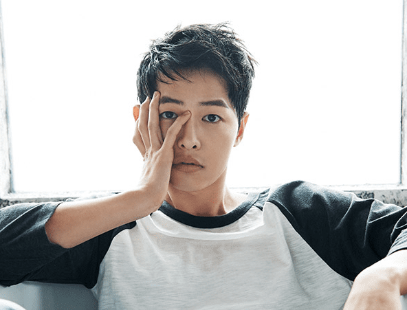 song joong ki korean skincare for men