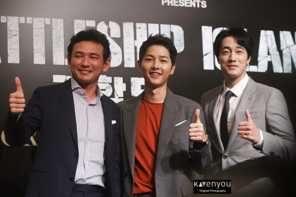 [COVERAGE] The Battleship Island cast takes Singapore by storm!