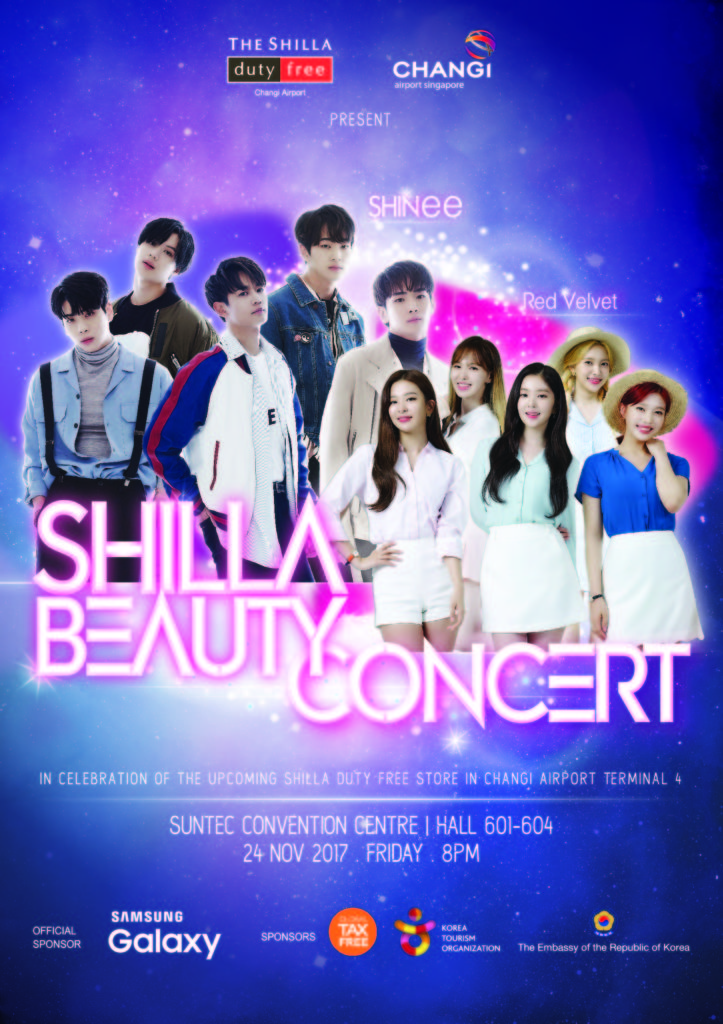 [EVENT] SHINee & Red Velvet to perform at one-night exclusive concert in Singapore!