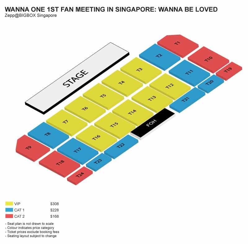 [EVENT] WANNA-ONE 1ST FAN MEETING IN SINGAPORE: WANNA BE LOVED