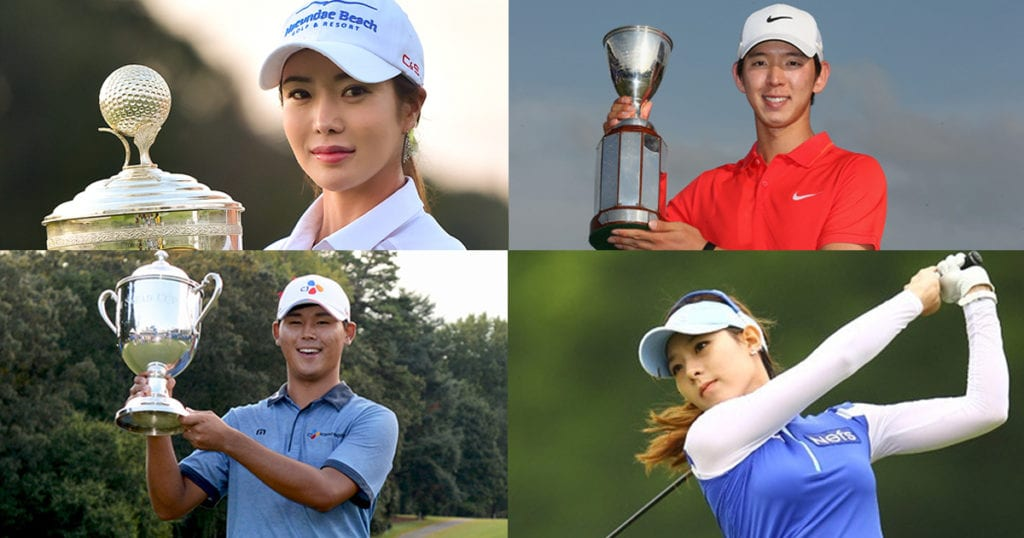 [Paparazzi Corner] 4 good-looking Korean golf players that will make you want to pick up the sport