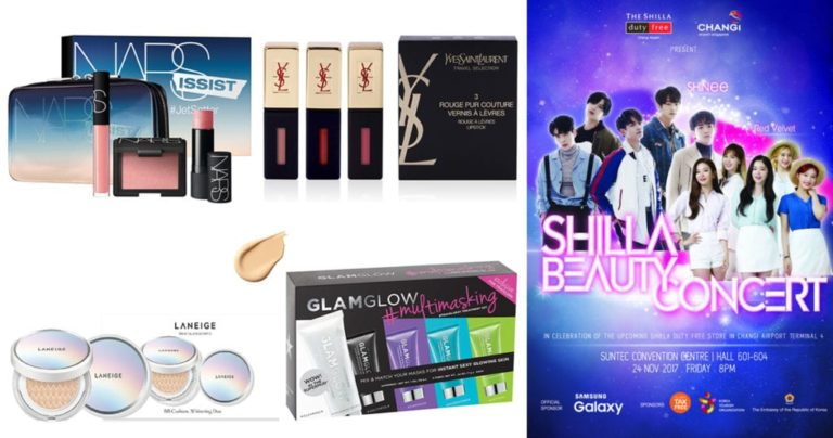 Beauty up with the best deals at The Shilla Duty Free stores at Changi Airport!