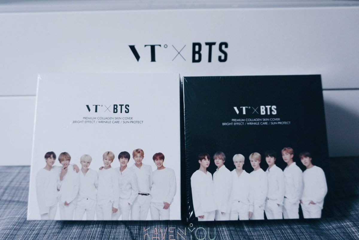 BTS x VT Cosmetics launches new Collagen Pack in South Korea
