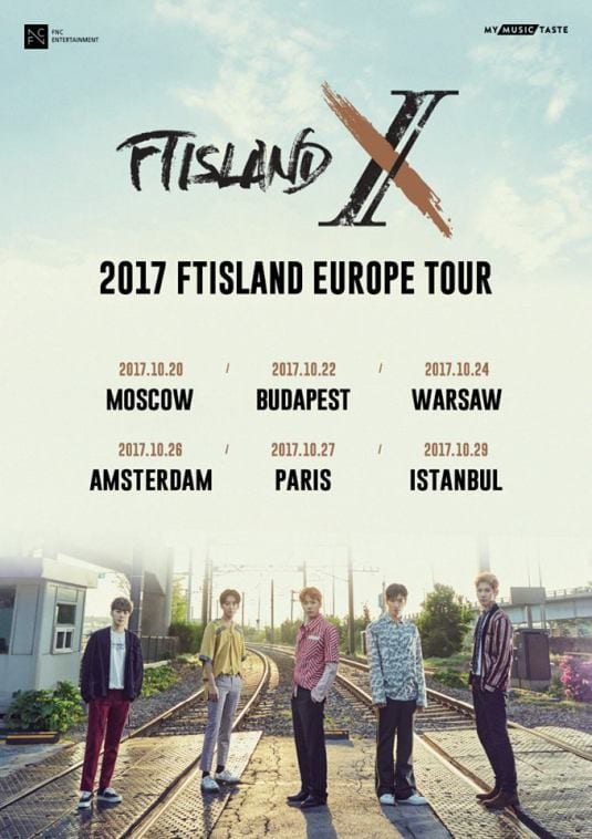 What to expect from FT Island's upcoming Europe tour ?