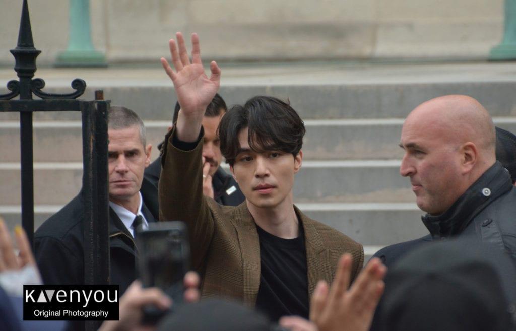 Lee Dong Wook at Paris Fashion Week
