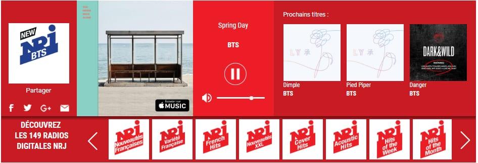 BTS get their own web radio in France
