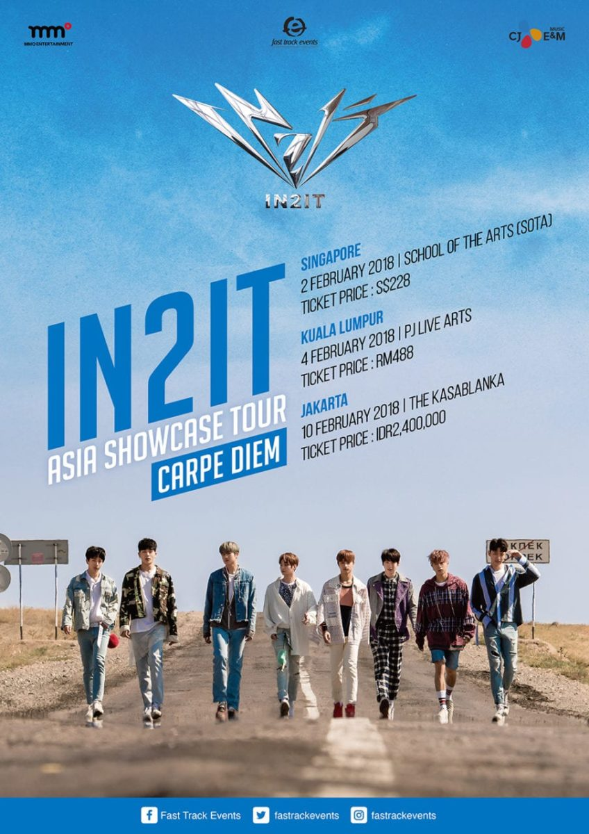 "[EVENT] IN2IT ASIA SHOWCASE TOUR ""Carpe Diem"""