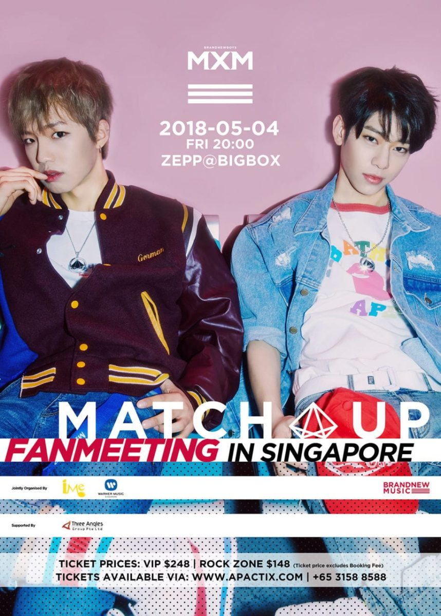 [EVENT] MXM <MATCH UP> FANMEETING IN SINGAPORE