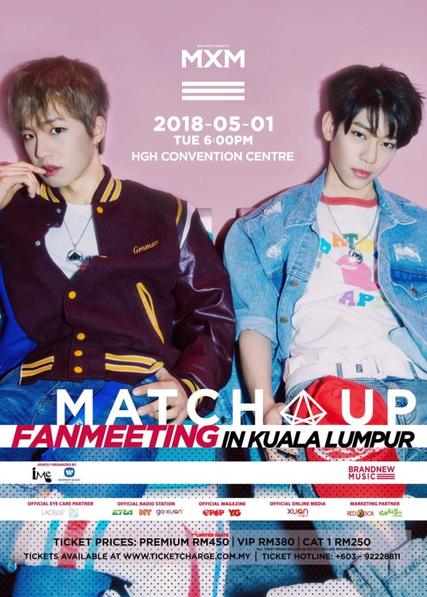 MXM Gears Up for Their First Fan Meeting in Malaysia