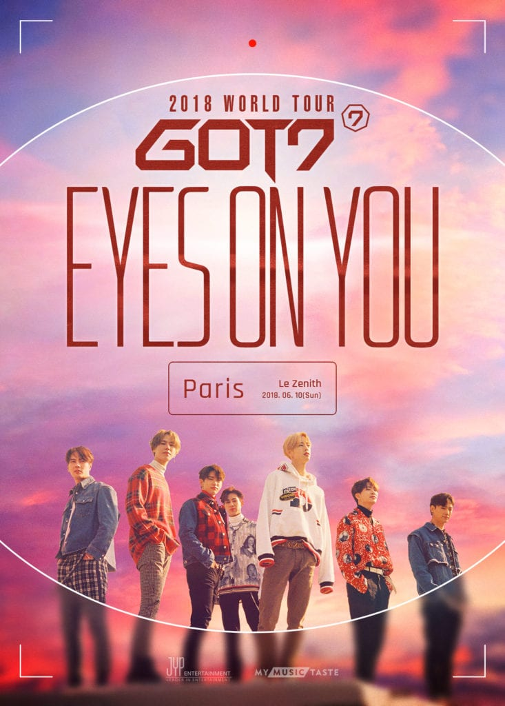 GOT7 will have their Eyes On You in Europe