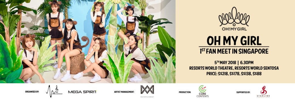 [EVENT] OH MY GIRL 1st Ever Fanmeet In Singapore!