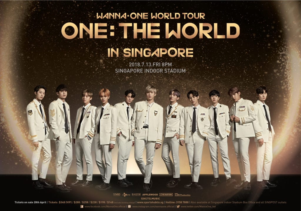Reasons to look forward to Wanna One World Tour in Singapore