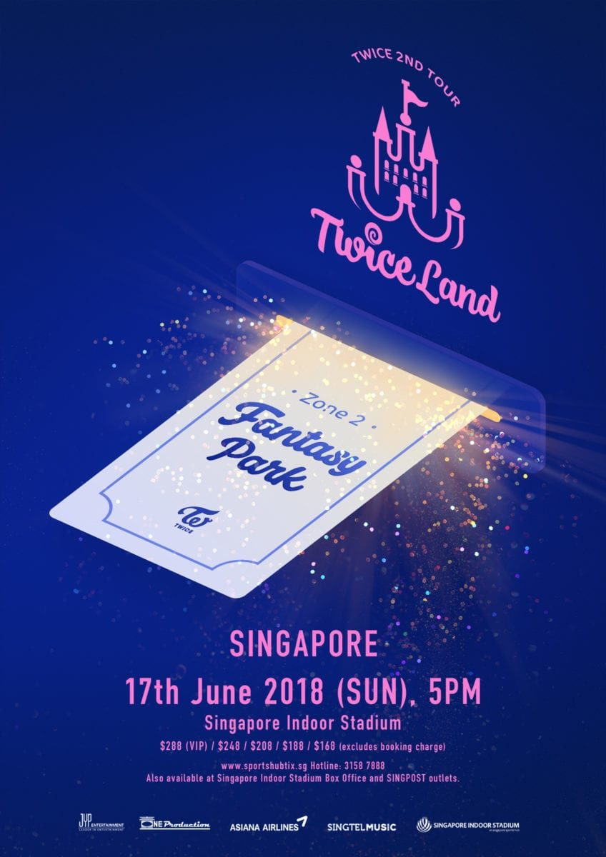 "[EVENT] TWICE invites you into their ""Fantasy Park"" in Singapore"