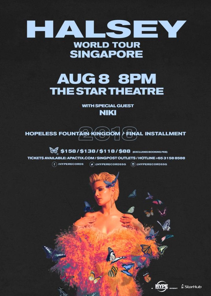 Halsey World Tour Singapore