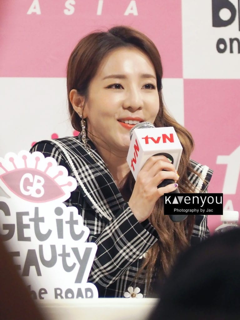 [COVERAGE] Sandara Park tours the lion city for Get It Beauty On The Road