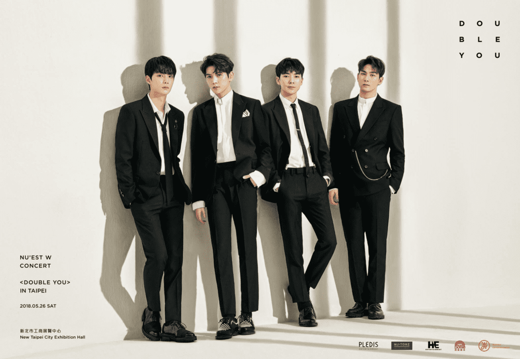 [EVENT] NU'EST W brings <DOUBLE YOU> concert to Taipei