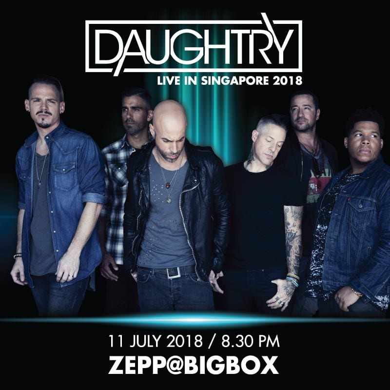 daughtry live in singapore