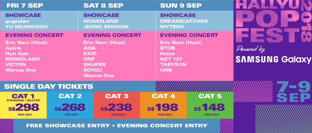 HallyuPopFest 2018 Tickets