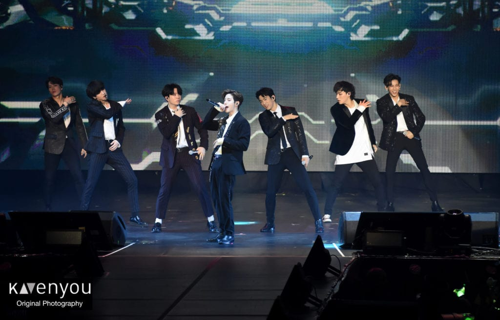 GOT7 concludes Europe concerts with a hot Parisian night