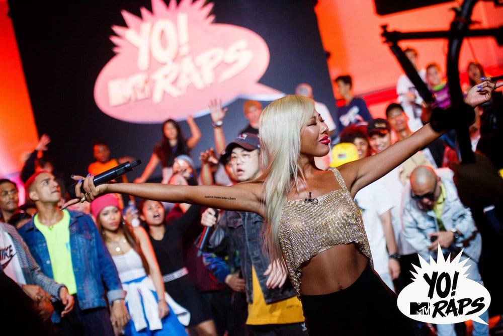 YO! MTV RAPS Jessie