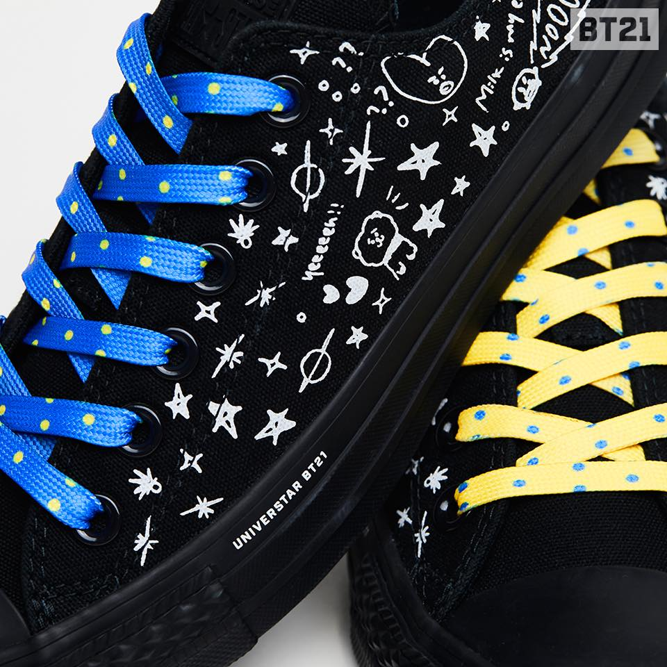 Sneak Peak At BT21 X Converse Sneaker Collection