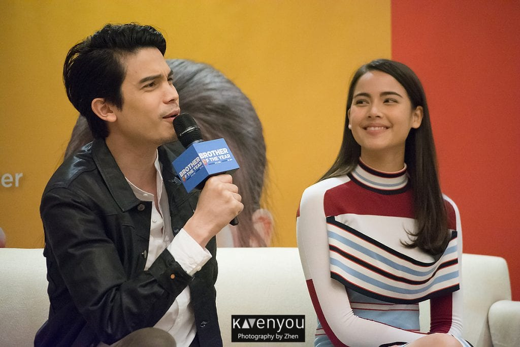 [Singapore Coverage] Brother of the Year cast talks about love at Singapore press conference