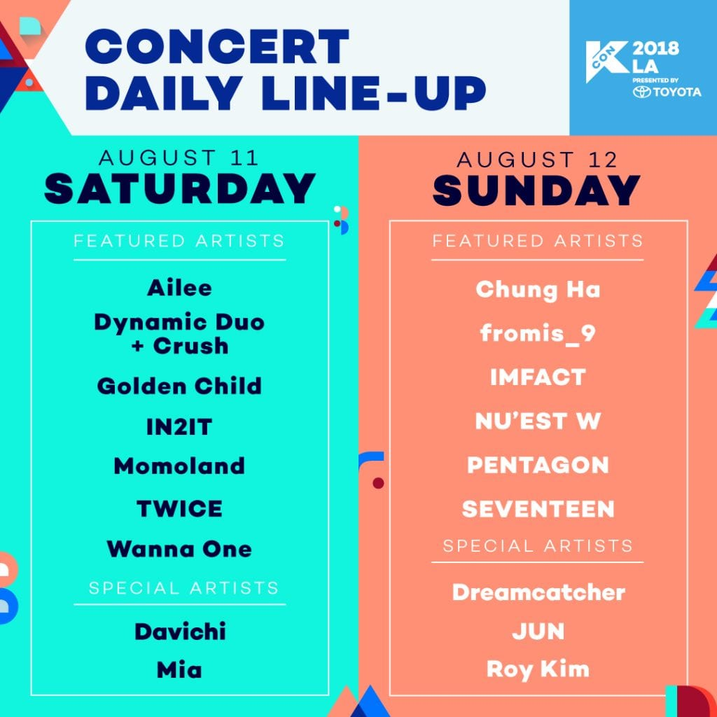 Win Tickets To See Your Faves At KCON LA!