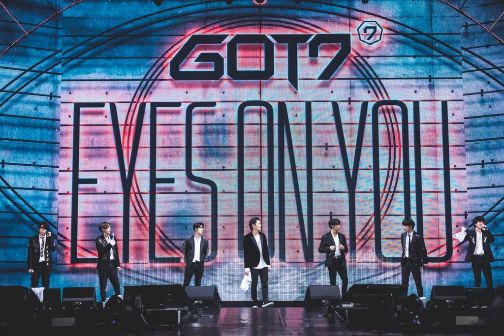 GOT7 Eyes On You World Tour in Singapore