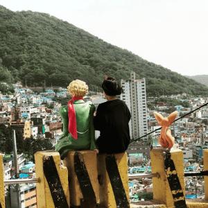 busan gamcheon cultural village little prince