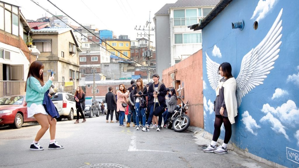 things to do in seoul with kids ihwa mural village